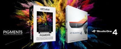 Studio ONE V4.5 Pro - Arturia Pigment Bundle