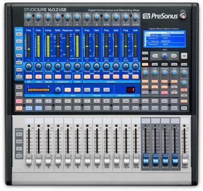 StudioLive 16.0.2 USB 16 kanal digital mikser - USB Ses Kartı