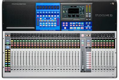 StudioLive 32 Series III 32 kanal yeni nesil dijital mixer