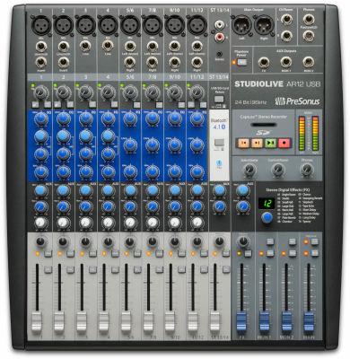 StudioLive AR 12 USB 12 Kanal Hibrit mixer