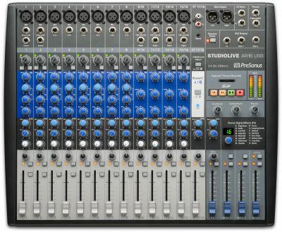 StudioLive AR 16 USB 16 Kanal Hibrit mixer