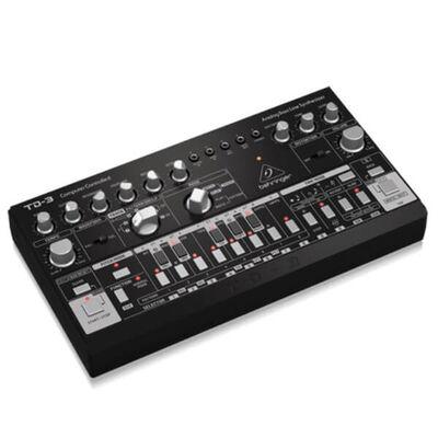 TD-3-BK Analog Synthesizer (Siyah)