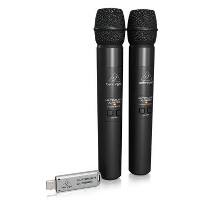 ULM202USB 2'li Usb Kablosuz El Mikrofonu
