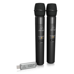 ULM202USB 2'li Usb Kablosuz El Mikrofonu - Thumbnail