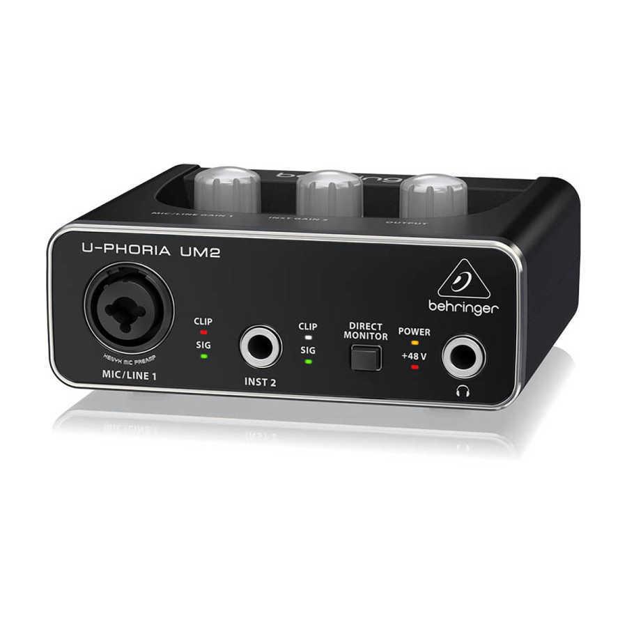 UM2 2 Kanallı USB Ses Kartı