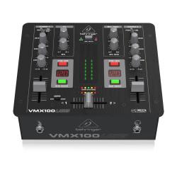 VMX100USB 2 Kanallı Profesyonel DJ Mikseri - Thumbnail