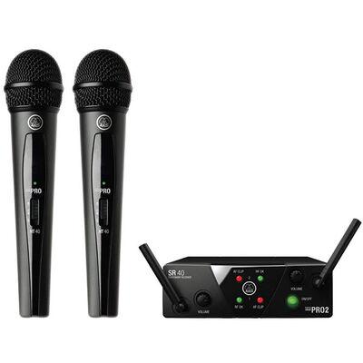 WMS40MINI2 VOC SET US45A/C Kablosuz Mikrofon Seti