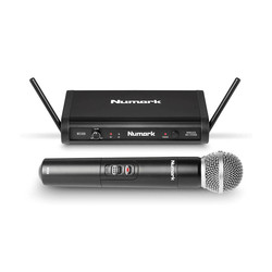 WS100 Kablosuz El Tipi Telsiz Mikrofon - Thumbnail
