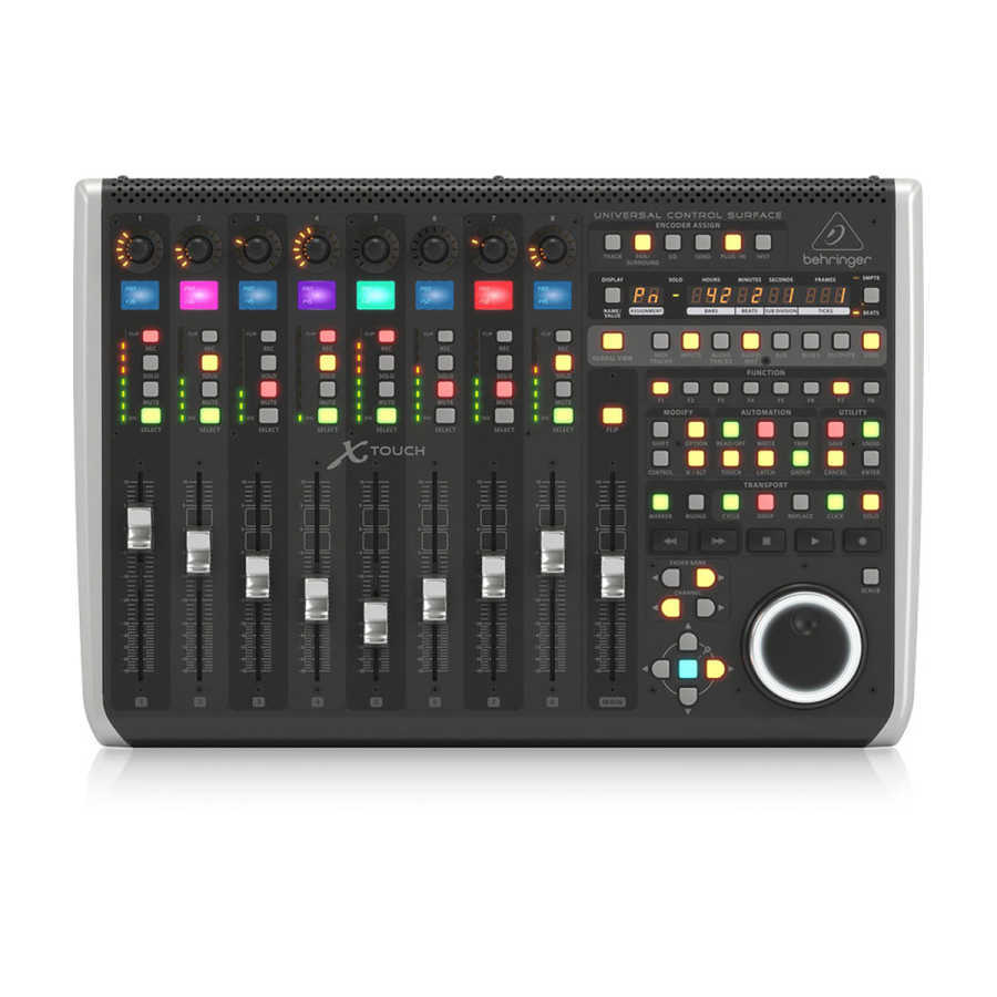 behringer_xtouch