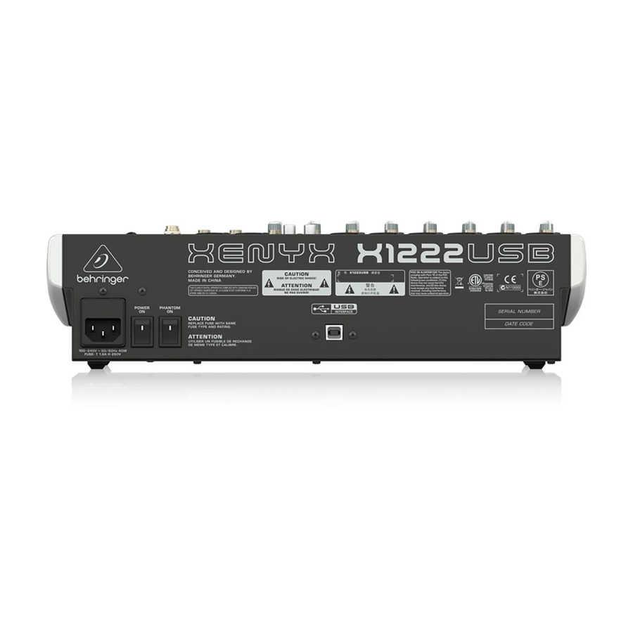 x1204usb 12 Kanallı usb Ses Mikseri
