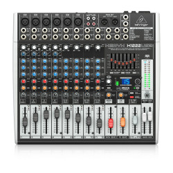 XENYX X1222USB 16 Kanallı Efektli Mikser - Thumbnail