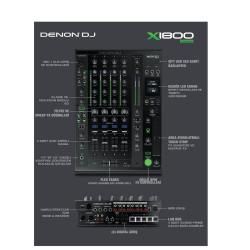 X1800 Prime 4 Kanal Profesyonel DJ Mikseri - Thumbnail
