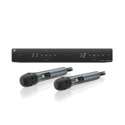 Sennheiser - XSW 1-835 DUAL-A Çiftli Kablosuz Vokal Mikrofonu